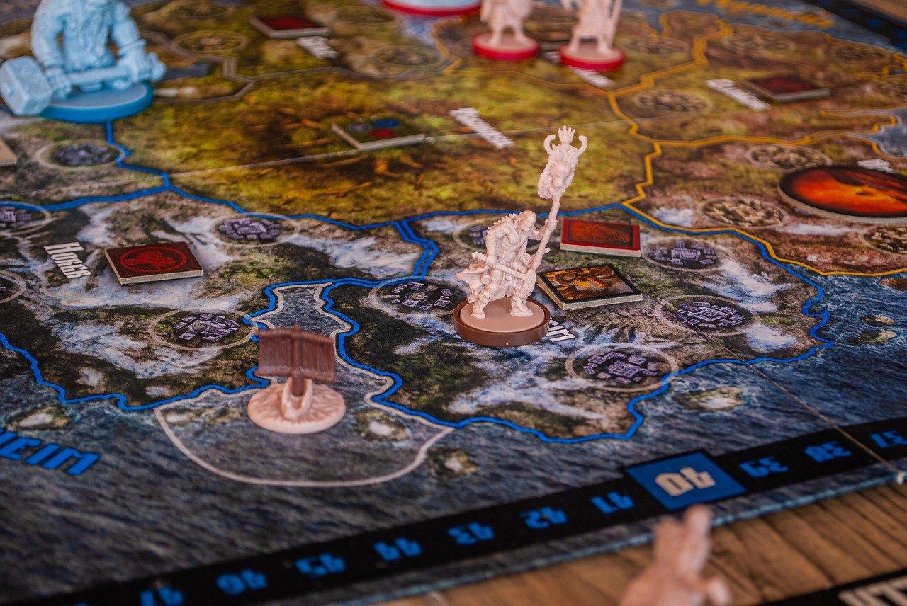 blood rage, tabletop, games